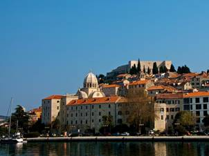 Sibenik - from sea
