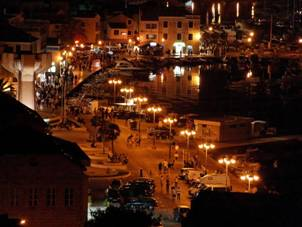 Vodice by night